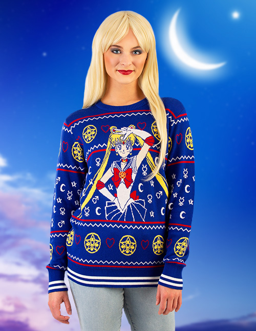 Sailor Moon Christmas Sweater