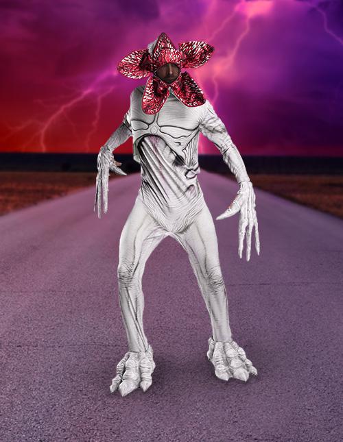 Demogorgon Halloween Costume
