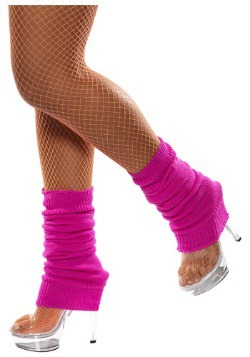 Adult Hot Pink Leg Warmers