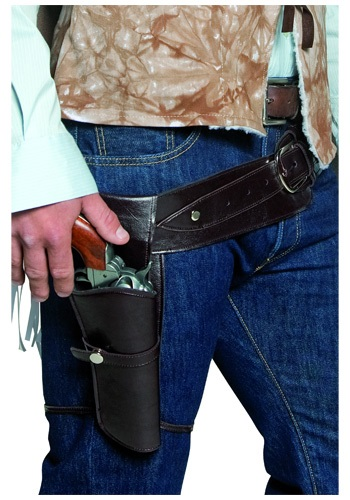 Wild West Revolver Holster and Belt