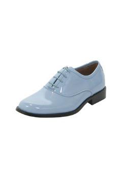 Baby Blue Mens Tuxedo Shoes