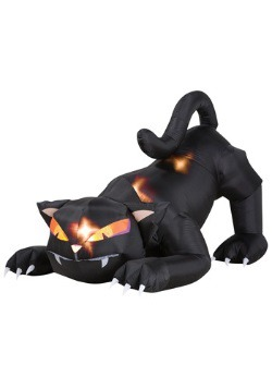 Scary Inflatable Cat with Moving Head