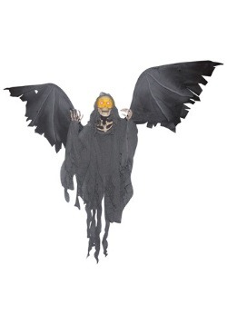 Flying Skeleton Reaper Halloween Decoration