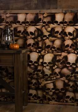Halloween Decor Wall of Skulls Catacombs Backdrop