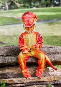 Child Rusty T-Rex Costume 4
