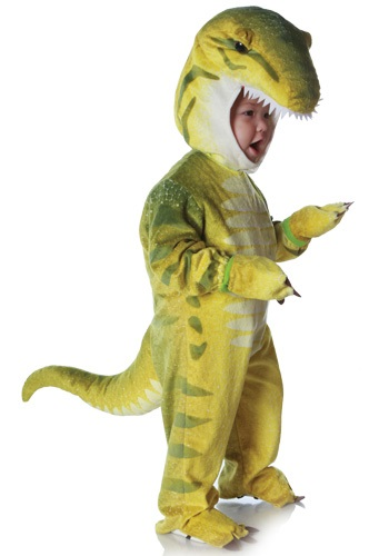Kid's Green T-Rex Costume