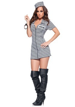 Adult Miss Behaved Prisoner Costume