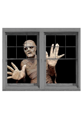 Mummy's Curse Double Window Cling