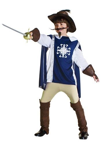 Kids Musketeer Costume
