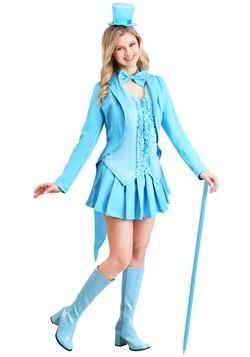 Sexy Blue Tuxedo Women's Costume update1