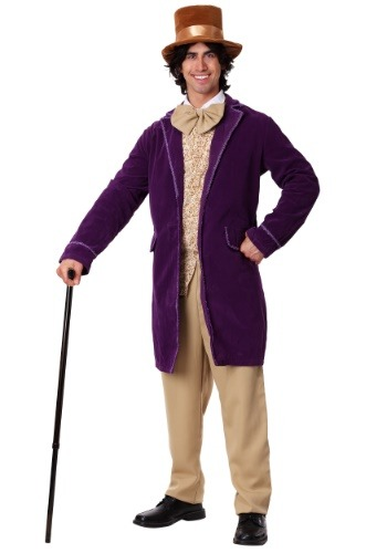 Deluxe Willy Wonka Plus Size Costume