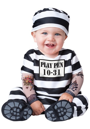 Time Out Prisoner Infant Costume