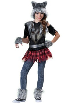 Tween Girls Werewolf Costume