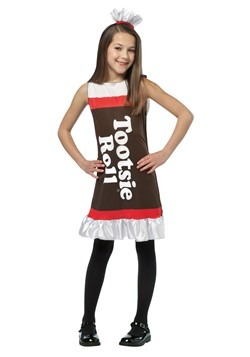 Tootsie Roll Dress  For Girls
