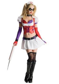 Arkham Asylum Harley Quinn Costume