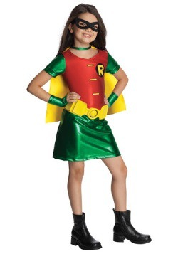 Titans Robin Girls' Costume