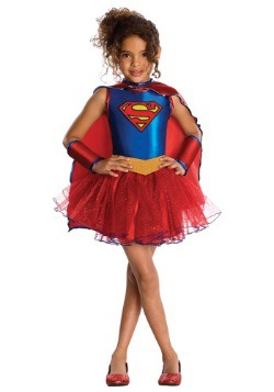 Supergirl Toddler Tutu Costume