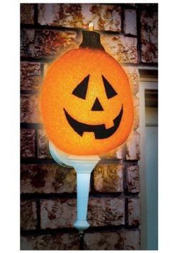 Sparkling Pumpkin Porch Light Cover