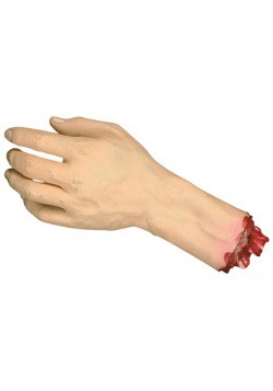 Severed Life Size Hand Halloween Decoration