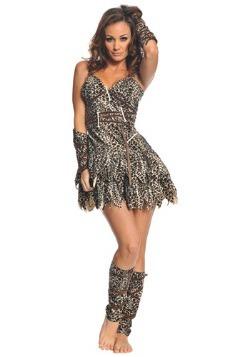 Women's Clubbin' Caveman Costume