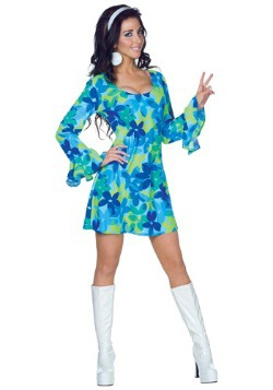 Wild Flower 70s Dress Costume