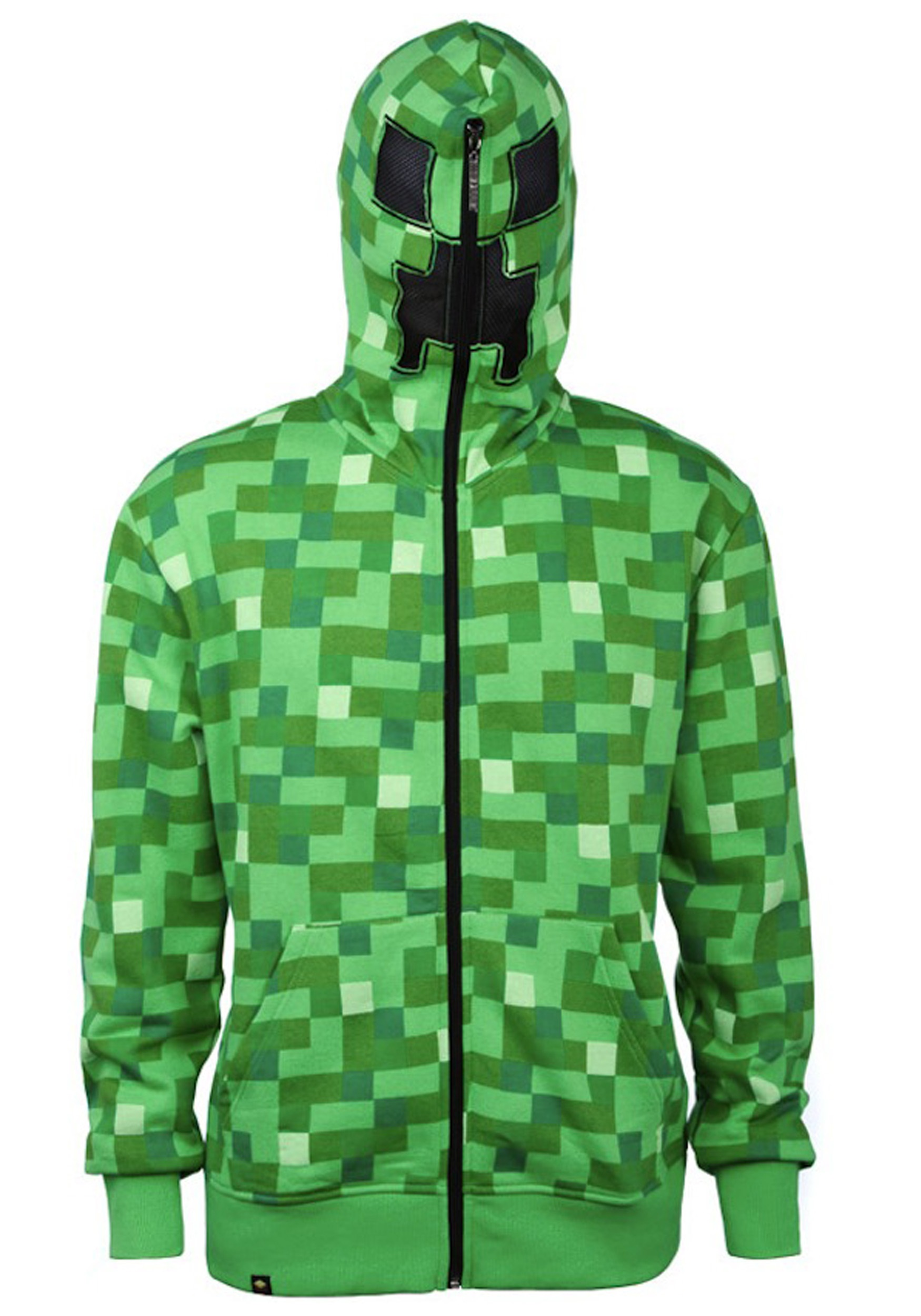 312da050d Kids  Minecraft Creeper Costume Hooded Sweatshirt