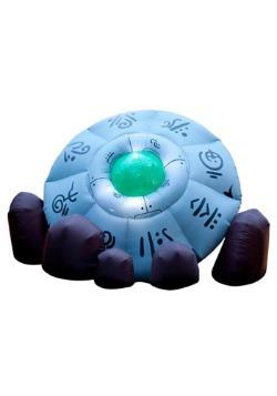 Crashed UFO Halloween Inflatable