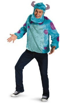 Adult Plus Size Sulley Deluxe Costume