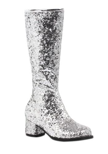 Girls Glitter Go-Go Boots