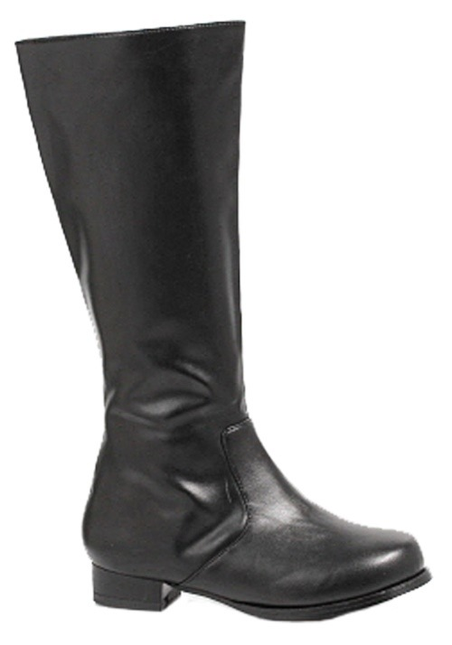 Black Costume Boots For Kids
