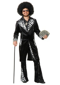 Plus Size Adult Mac Daddy Pimp Costume