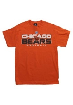 Critical Victory VI Orange Chicago Bears T-Shirt