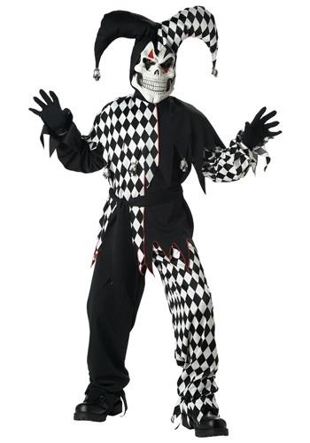 Dark Jester Kids Costume