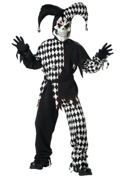 Dark Jester Kids Costume