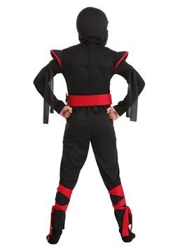 Stealthy Ninja Kids Costume Alt 1