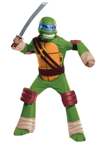 Deluxe TMNT Leonardo Boys Costume