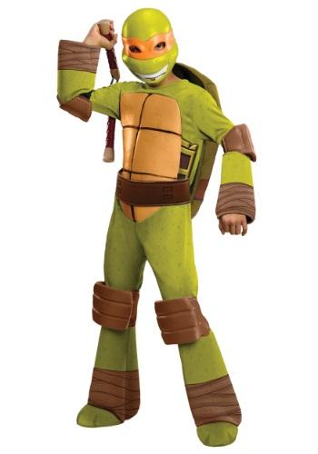 Deluxe TMNT Michelangelo Boys Costume