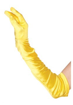Yellow Adult Gloves