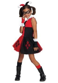 Girl's Harley Quinn Tutu Costume
