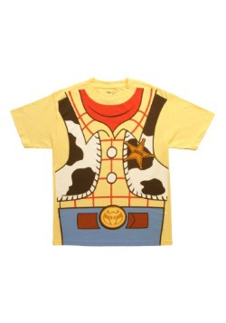 Toy Story I Am Woody Costume T-Shirt