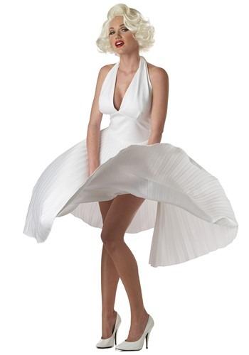 Teen Marilyn Monroe Deluxe White Dress
