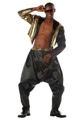 Men's Old School Rapper Costume