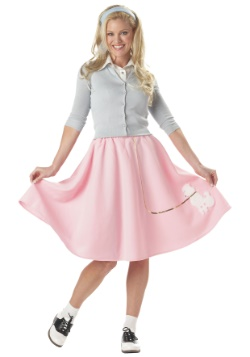 Women's Poodle Pink Skirt