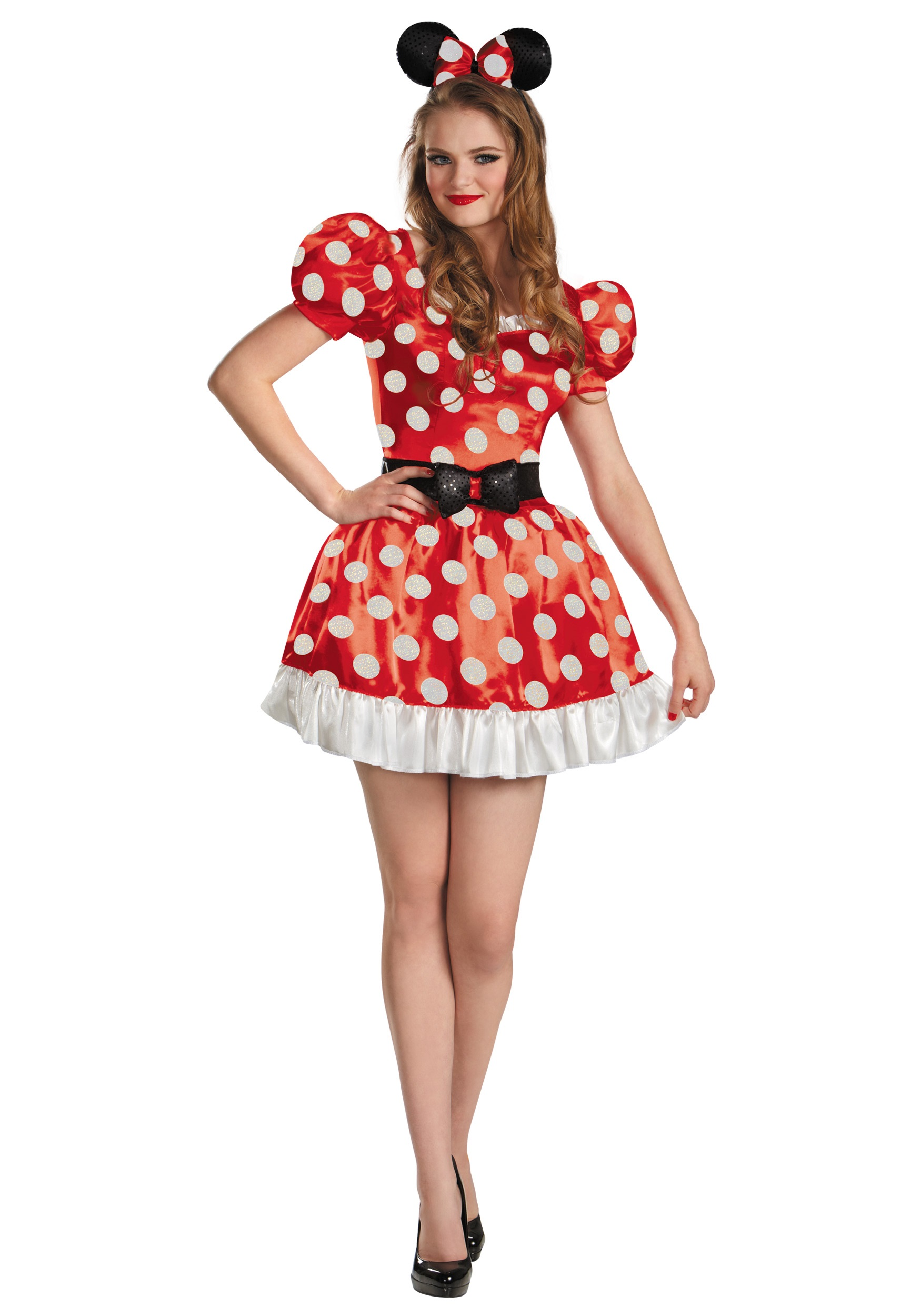 Classic Red Minnie Costume for Women