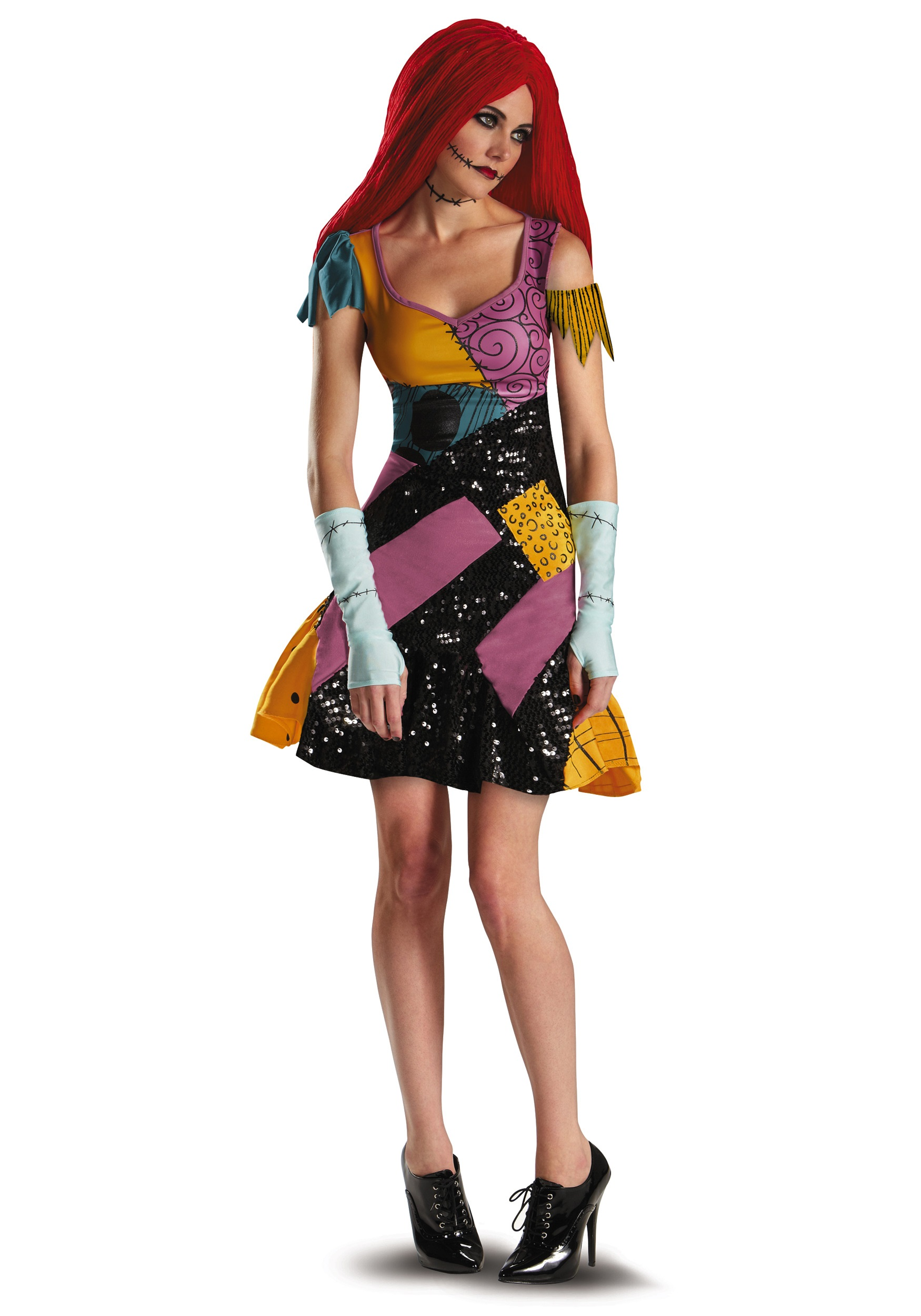Plus Size Sally Glam Costume for Women