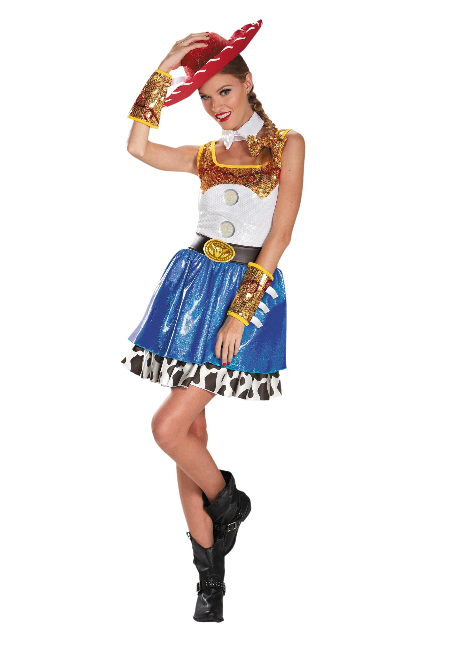 Plus Size Jessie Glam Costume