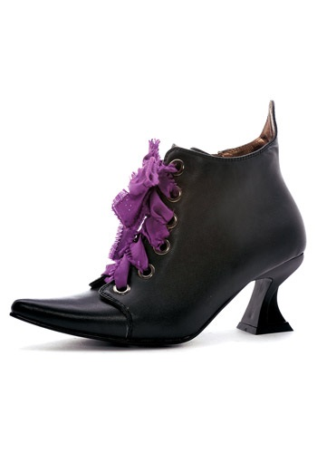 Women's Lace Up Witch Shoes