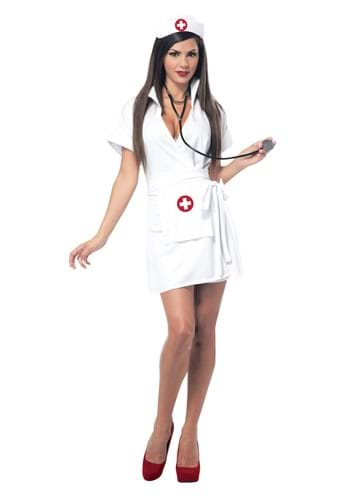 Women's Retro Nurse Costume