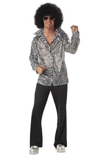 Men's Psychedelic Disco Shirt