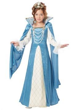 Renaissance Queen Girls Costume